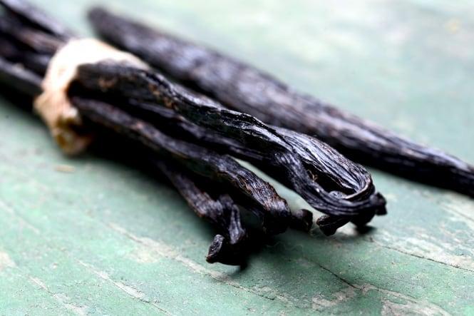 Økologisk vaniljepulver