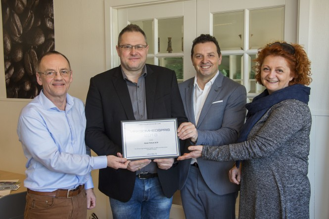 Grøn Fokus vandt LAR-prisen